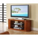 Corsair Walnut Oval TV Unit