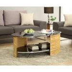 Corsair Oak Oval Coffee Table