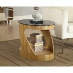 Corsair Oak Oval Lamp Table