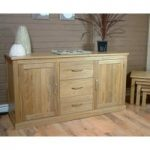 Rhone Large Solid Oak Sideboard