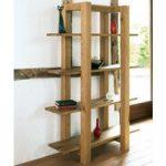 Lyon Oak Open Shelf Unit