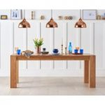 Madrid 200cm Oak Dining Table