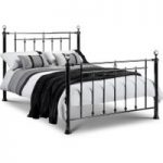 Marquis Black & Crystal Bed – Double or King