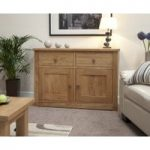 Messina 130cm Oak Sideboard