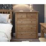 Messina Oak 2 Over 3 Chest