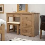 Messina Oak Dressing Table and Stool