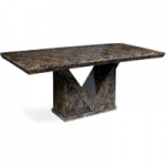 Maretto 180cm Marble-Effect Dining Table