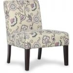 Morrissey Deco Amethyst Fabric Chair