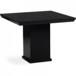 Napoli 100cm Square Black Marble Dining Table
