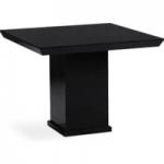 Napoli 100cm Square Black Marble Dining Table