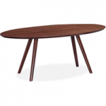 Valencia Walnut Oval 180cm Dining Table