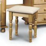 Pioneer Solid Pine Dressing Table Stool