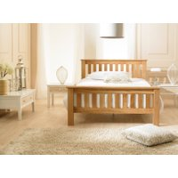 cd7b8ee4ec36 Brighten your bedroom with the warmth of this solid wood Dulwich bed. Not  only is this bed designed for style and comfort, it works in perfect  harmony with ...