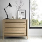 San Leo Weathered Oak 3 Drawer Chest