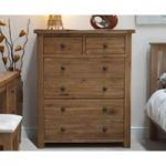 Bramley Oak 2 Over 4 Drawer Chest