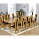 Normandy 180cm Solid Oak Extending Dining Table with Toronto Chairs