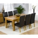 Normandy 180cm Solid Oak Extending Dining Table with Normandy Chairs