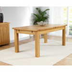 Normandy 180cm Oak Extending Dining Table