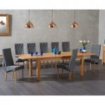 Somerset 180cm Oak Extending Dining Table with Juliette Chairs