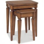 Sophia Antique Oak Nest of Tables