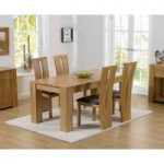 Thames 150cm Oak Dining Table with Montreal Chairs