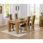 Thames 150cm Oak Dining Table with Toronto Chairs