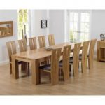 Thames 300cm Oak Dining Table with Montreal Chairs