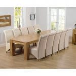 Thames 300cm Oak Dining Table with Kentucky Chairs