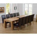 Thames 300cm Oak Dining Table with Normandy Chairs