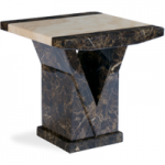 Tamarro Marble Lamp Table