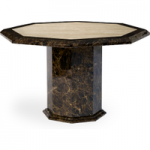 Tamarro Octagonal Marble Dining Table (120cm)