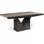 Tamarro 160cm Marble Dining Table