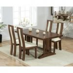 Cavendish 165cm Dark Oak All Sides Extending Table with Toronto Chairs