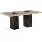 Brittoli 160cm Marble Dining Table