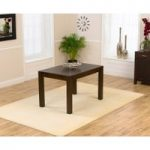 Verona 120cm Dark Oak Dining Table