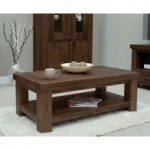 Mira Walnut Coffee Table