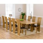 Normandy 220cm Solid Oak Extending Dining Table with Montreal Chairs