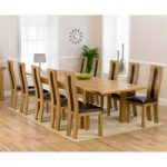 Normandy 220cm Solid Oak Extending Dining Table with Toronto Chairs