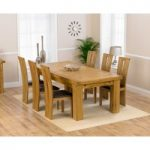 Loire 230cm Solid Oak Extending Dining Table with Montreal Chairs