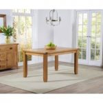 Yateley 140cm Oak Dining Table
