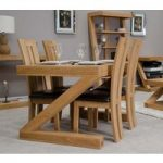 Infinity 120cm Solid Oak Dining Table