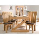 Infinity 180cm Solid Oak Dining Table