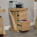 Infinity Oak Two Drawer Filing Cabinet