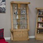 Infinity Designer Oak and Glass Display Cabinet